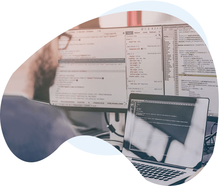 Web developer working on custom wordpress development in dallas